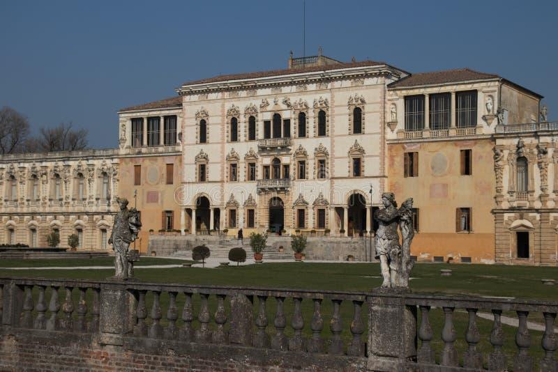 Vue panoramique de Contarini de villa d'une villa antique par Andrea Pal photo libre de droits