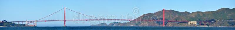 Vue panoramique de golden gate bridge de San Francisco image libre de droits