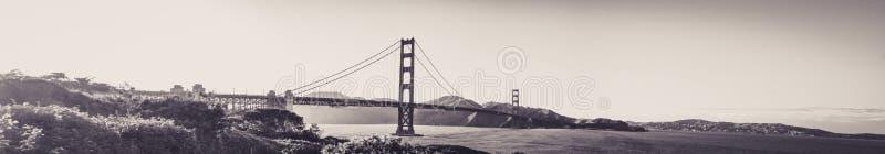 Vue panoramique de golden gate bridge de San Francisco photo libre de droits