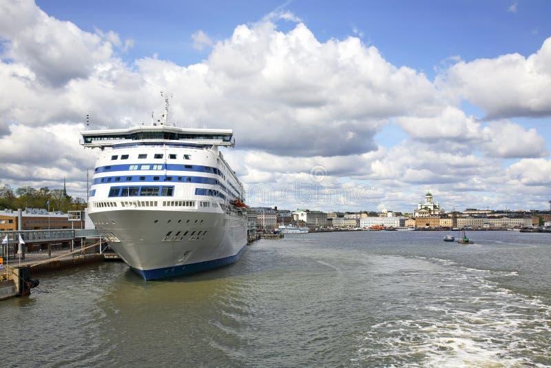 Vue panoramique de Helsinki finland images libres de droits