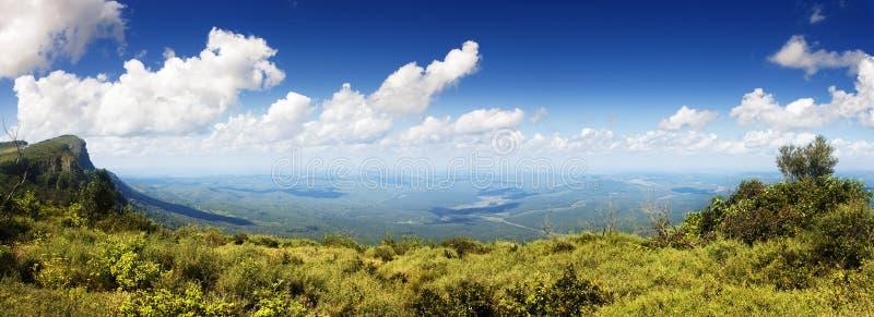 Vue panoramique de l'hublot de Dieu photo libre de droits