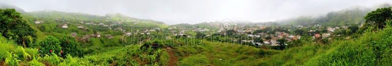 Vue panoramique de la villa Nova Sintra photos libres de droits