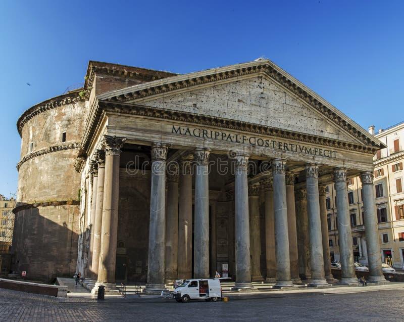 Vue panoramique de Panthéon photos libres de droits