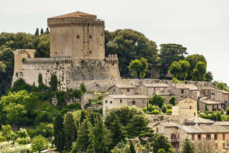 Sarteano (Toscane) photos stock