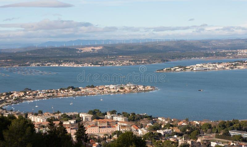 Sete - Herault - France. Vue panoramique de Sete - Herault - Occitania - France stock photos