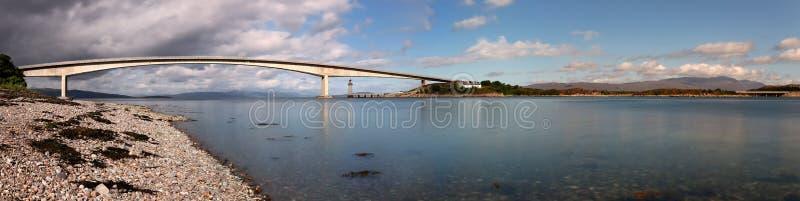Vue panoramique de Skye Bridge et du x28 ; Île de Skye, Scotland& x29 ; photos libres de droits