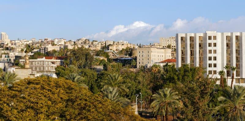 Vue panoramique de Tiberius images libres de droits