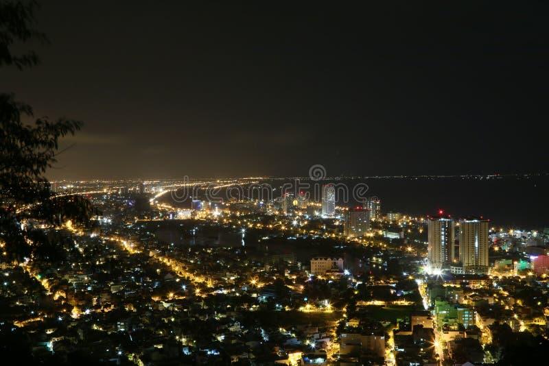 Vue panoramique de V?ng Tàu d'un point de vue élevé image stock