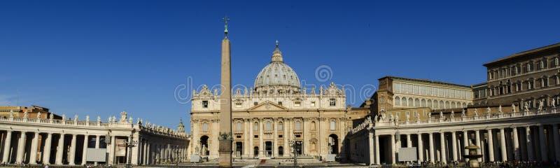 Vue panoramique de Ville du Vatican photo stock