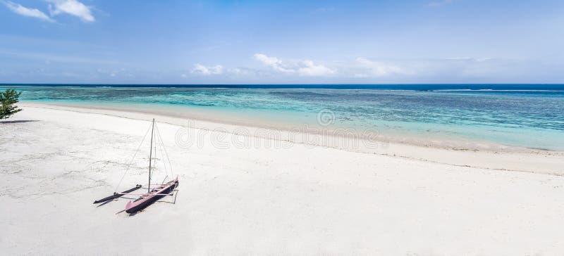 Vue panoramique sur la lagune images libres de droits