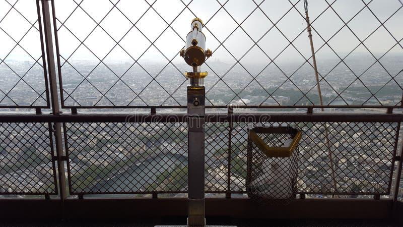 Vue Paris de Tour Eiffel photos libres de droits