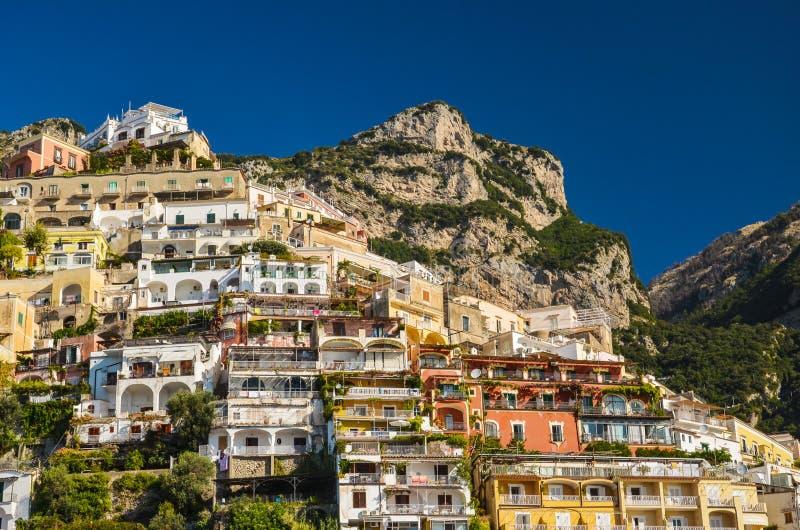 Vue pittoresque de village Positano, Italie image libre de droits