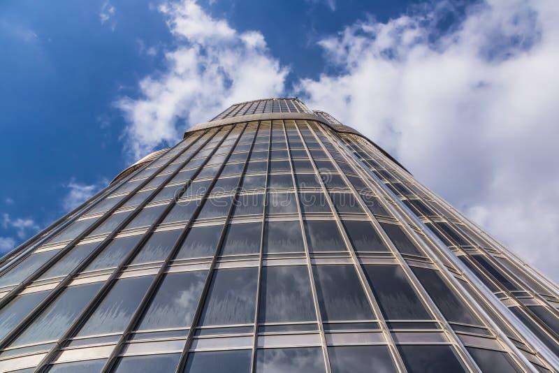 Vue proche de Burj Khalifa photographie stock