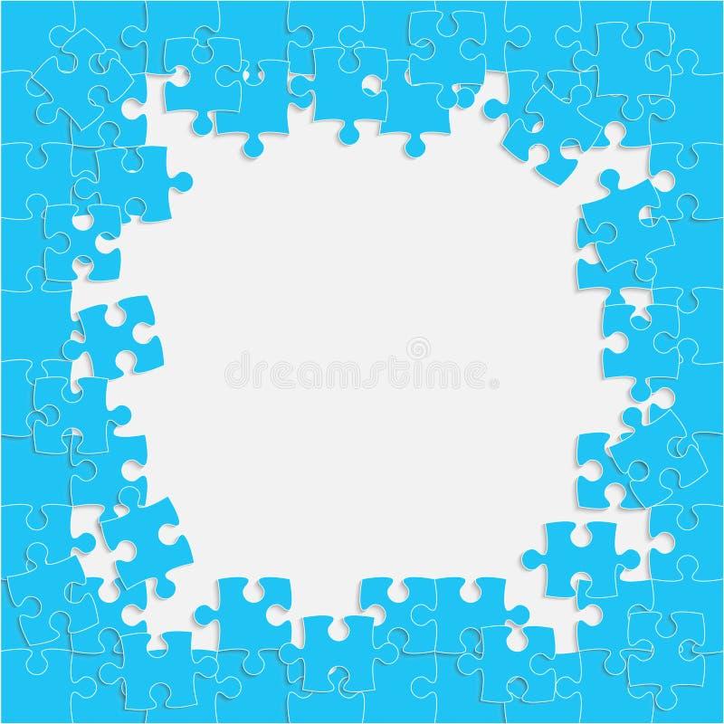 Vue Puzzle illustration libre de droits