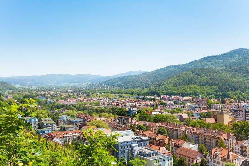 Vue scénique de Fribourg-en-Brisgau en Allemagne image stock