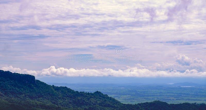 Vue scénique de la Thaïlande du nord image stock