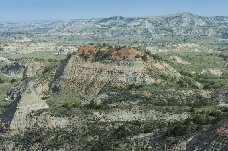Vue scénique peinte de canyon photographie stock