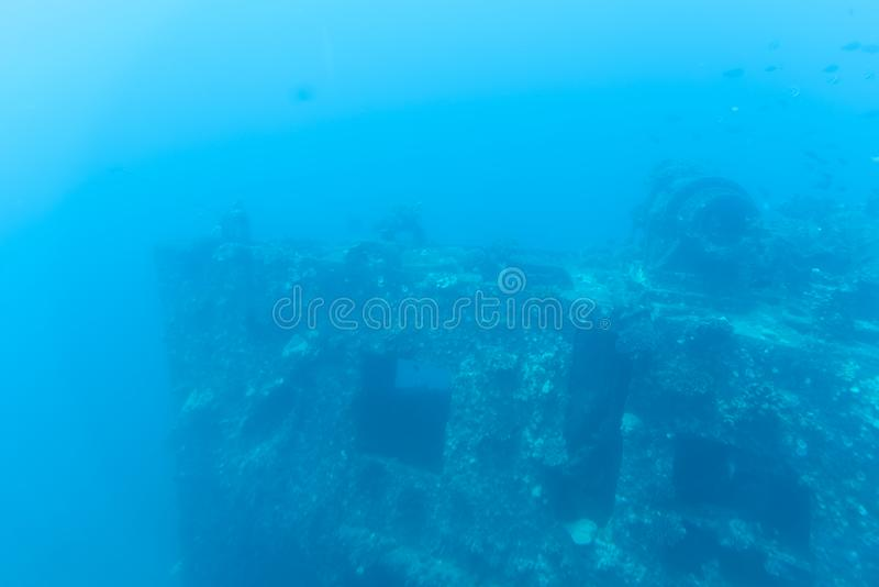 Vue sous-marine, tour submersible de Waikiki photo stock