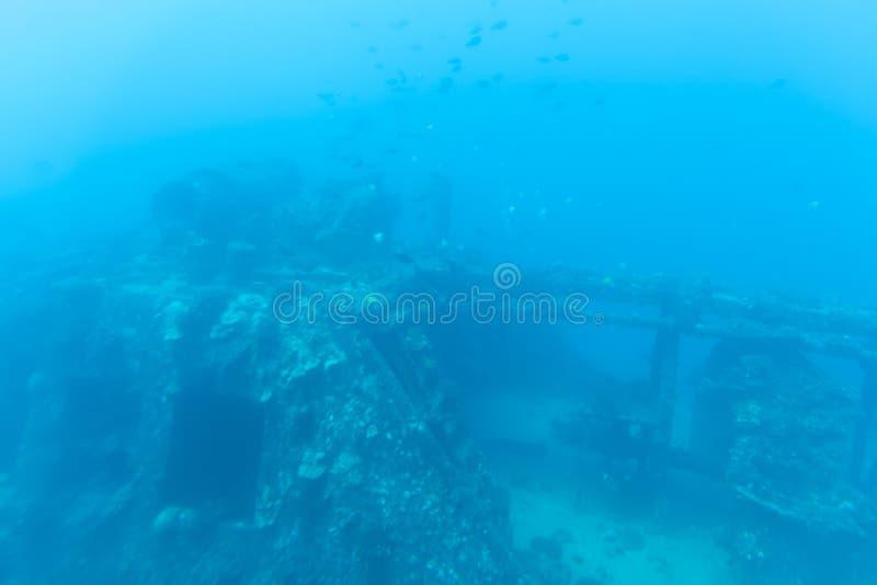 Vue sous-marine, tour submersible de Waikiki image stock