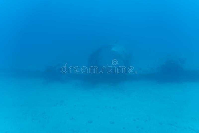 Vue sous-marine, tour submersible de Waikiki photo libre de droits