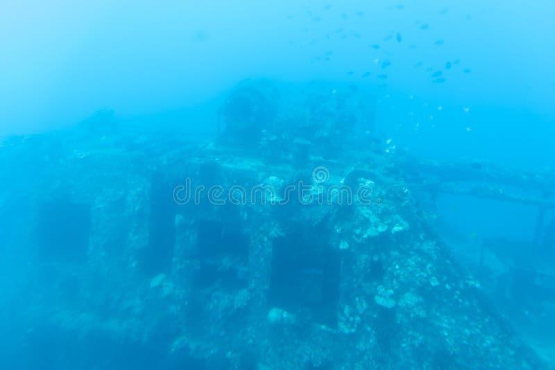 Vue sous-marine, tour submersible de Waikiki photos libres de droits