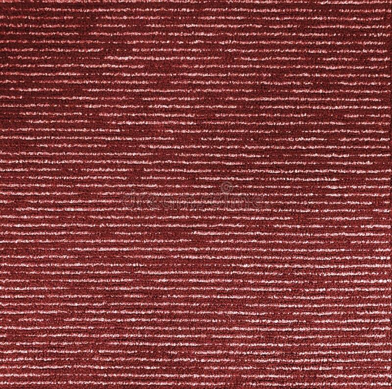 Vue supérieure de fin sans couture de texture monochrome de tapis rouge photo stock