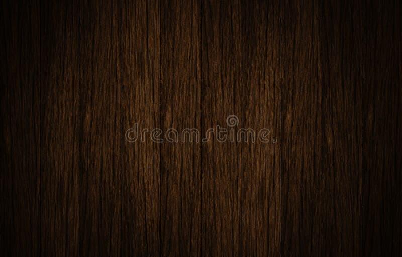 Vue supérieure de la surface en bois brune photo libre de droits