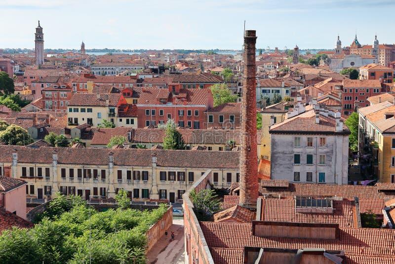 Vue supérieure de Venise photo stock