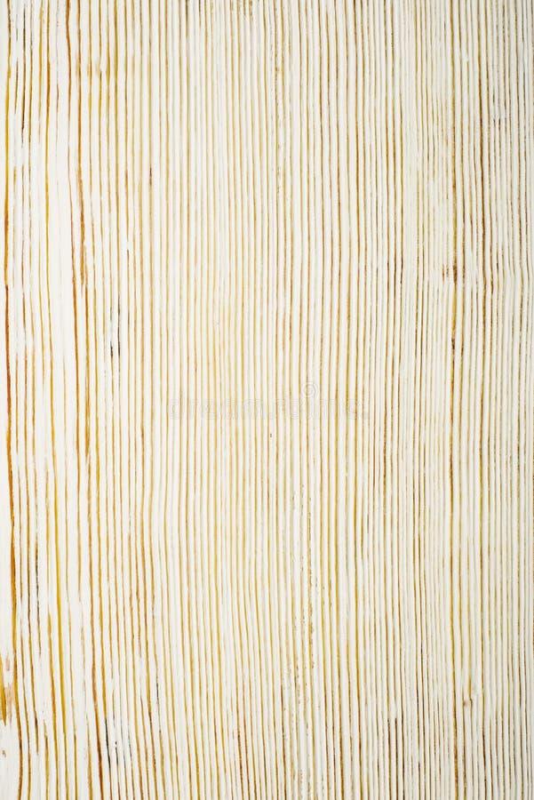 Vue sup?rieure sur la texture en bois balay?e blanche image stock