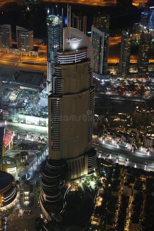 Vue sur égaliser le centre ville de Dubaï, Emirats Arabes Unis images libres de droits