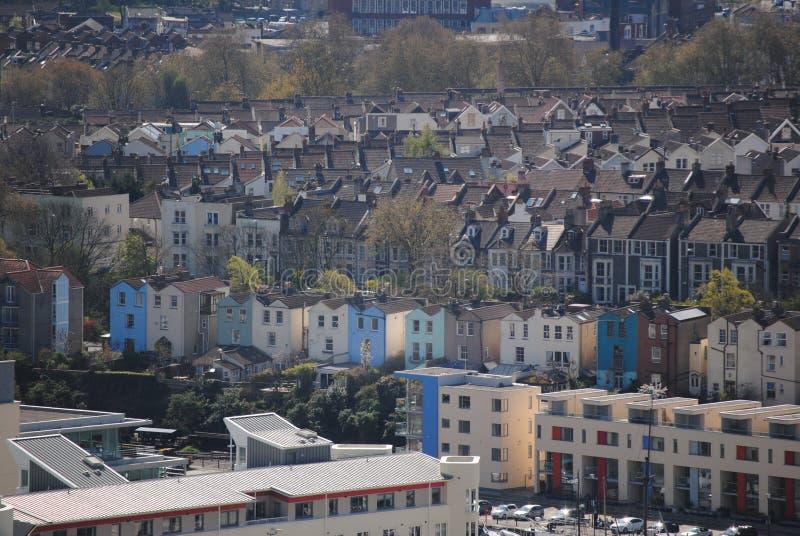 Vue sur Bristol photos libres de droits