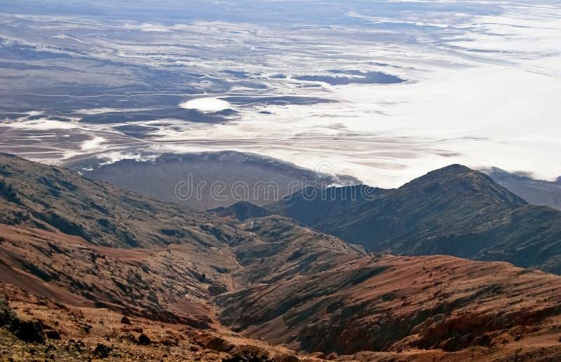 Vue sur Death Valley photo libre de droits