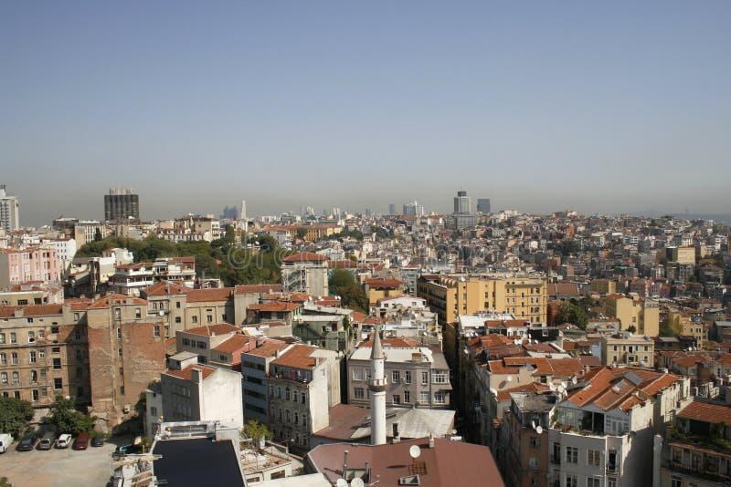 Vue sur Istanbul images libres de droits