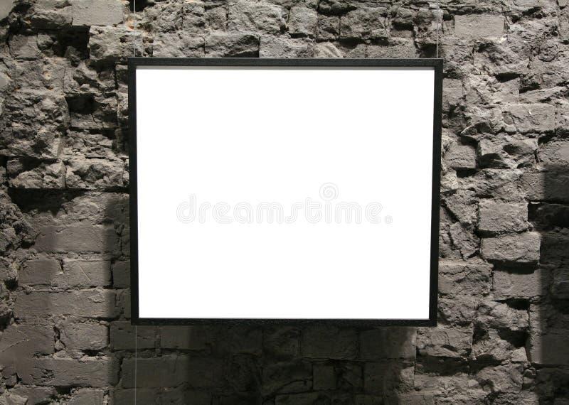 Vue sur le mur de briques images libres de droits