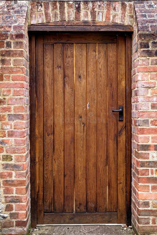 Vue sur les portes - Winchester, Royaume-Uni photographie stock