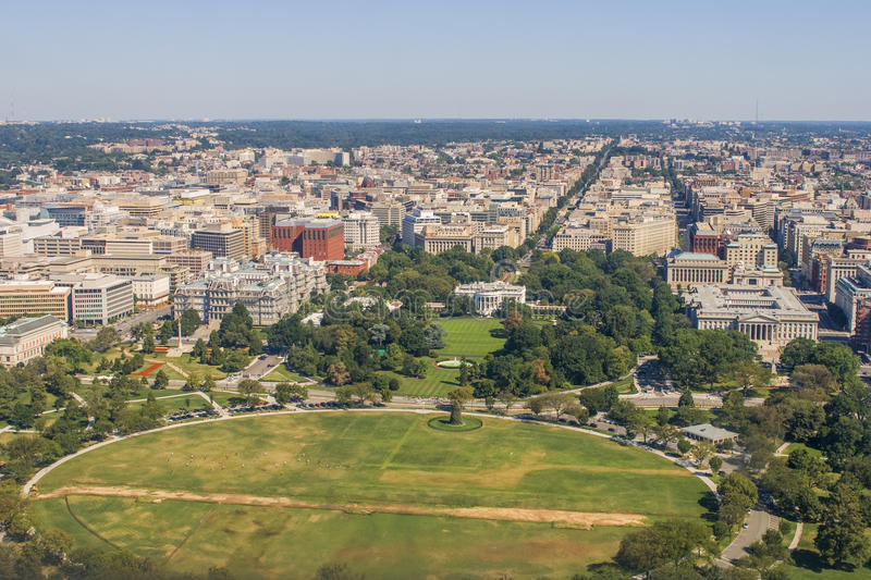Vue sur Washington image stock