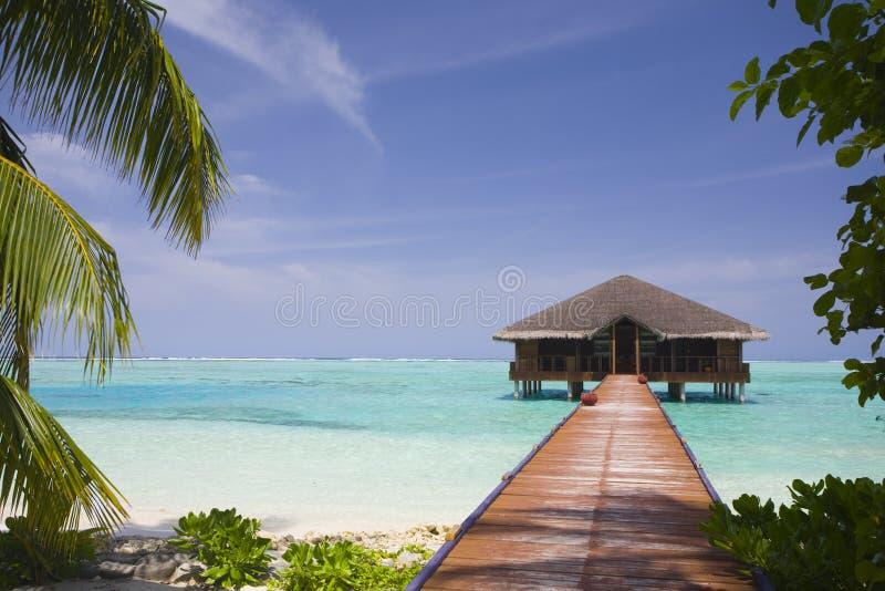 Vue tropicale d'île image libre de droits