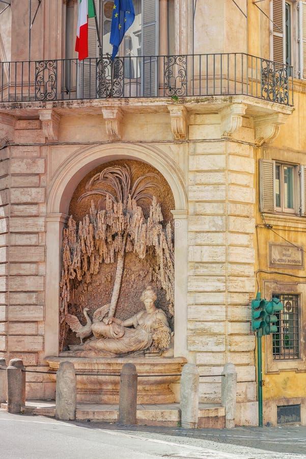 Vue urbaine et historique de beau paysage de Rome, urb photos stock