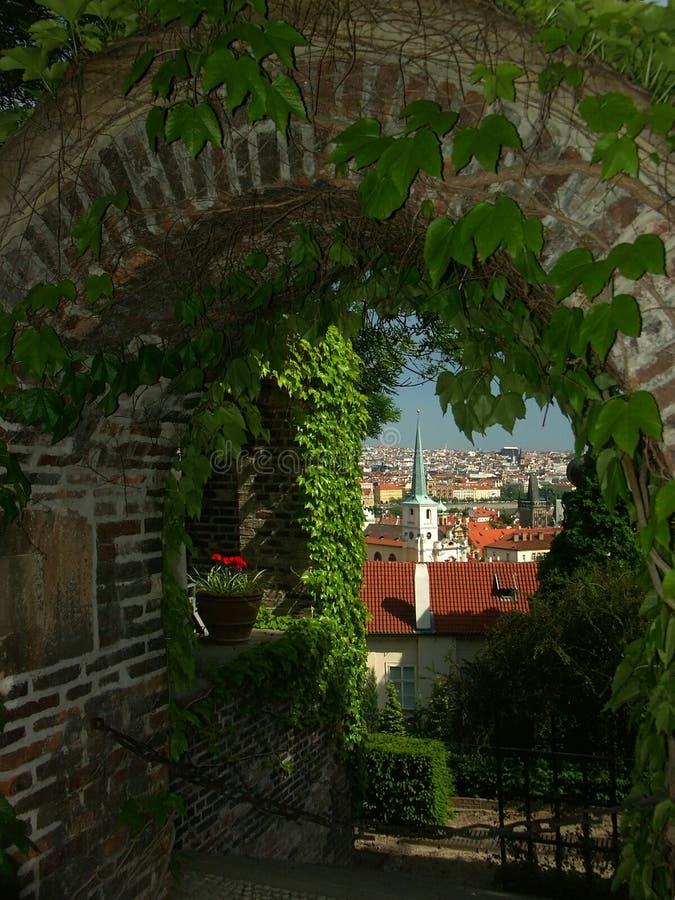 Vue vers Prague photos libres de droits