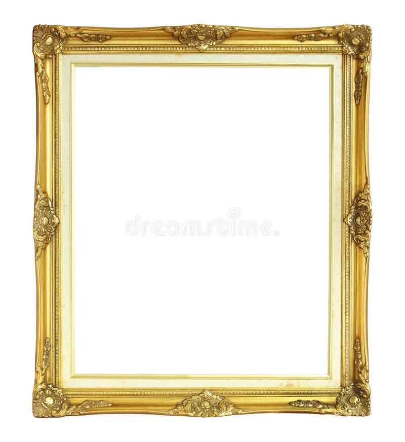 Vue victorienne de photo de style d'isolement sur le fond blanc photographie stock