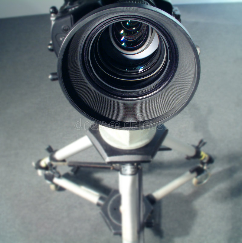 Vue visuelle grande-angulaire de lentille image stock