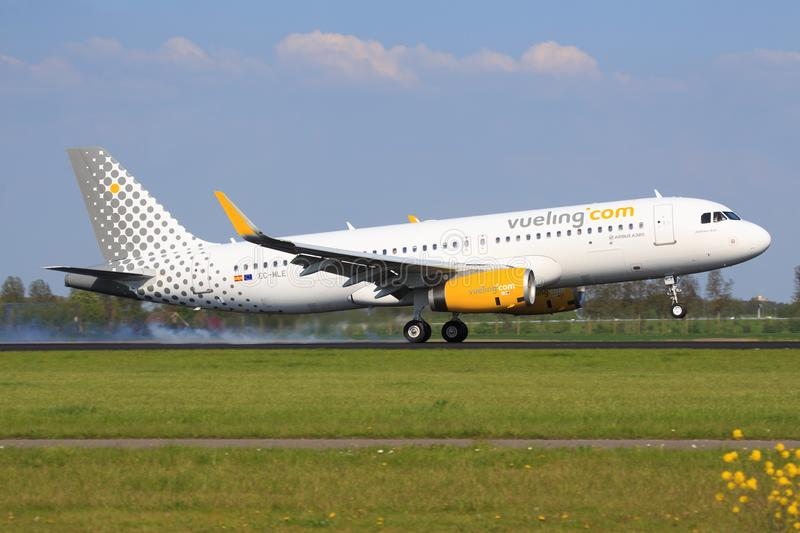 VUELING photographie stock