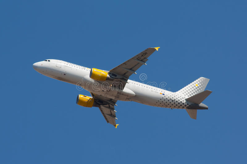 A320 Vueling stock afbeelding