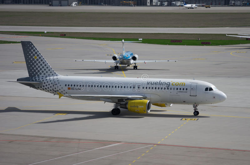 Vueling Airlines stock foto