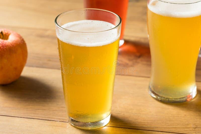 Vuelo alcohólico clasificado de la sidra dura imagen de archivo