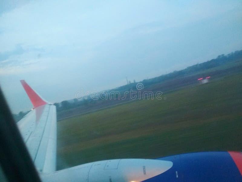 vuelo imagen de archivo