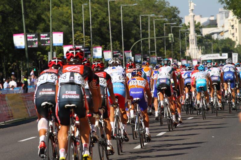 Vuelta a España 2010. Last etap of Vuelta a España 19 september 2010 in Madrid royalty free stock photos