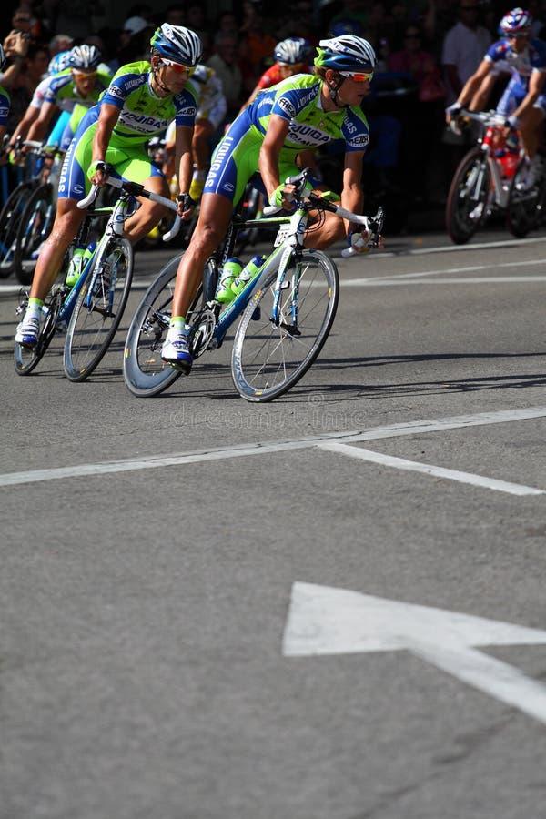 Vuelta un España 2010 fotografía de archivo libre de regalías