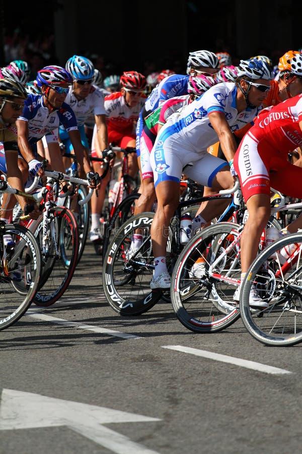 Vuelta un España 2010 imagenes de archivo