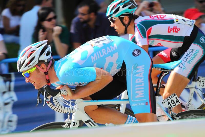 Vuelta un España 2010 fotografía de archivo